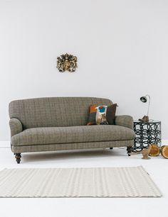 Manor Harris Tweed Sofa In Bracken