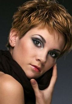 SHORT SPIKEY HAIRCUTS FOR WOMEN OVER 50 | Short & Spiky ...