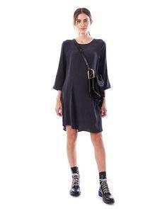 e80af10bedd3e LAYLA - Charcoal 3/4 sleeve dress Nursing Wear, Nursing Dress, Hide Bra