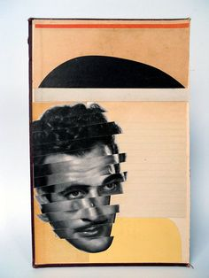 One of my own.     Gilbert Roland Collage on Book Cover