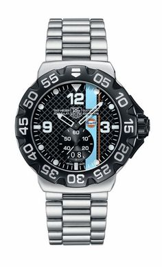 Tag Heuer- I love a watch you can wear with anything. Looks great dressed up or dressed down.