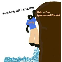 How To Say HELP in Haitian Creole                           Help = Ede             (pronounced eh-deh)                     Have a request for a specific word? Leave a comment and let me know...