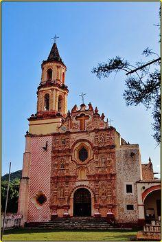 Misión de Nuestra Señora de la Luz ,Tancoyol,Sierra Gorda,Estado de Querétaro,México