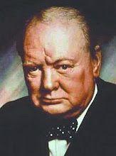 """Sir Winston Churchill - """"El socialismo es una filosofía del fracaso, el credo de la ignorancia, y el evangelio de la envidia;. Sus virtudes muy inherente es la distribución igualitaria de la miseria"""" ... """"Yo sostengo que para que una nación intente gravarse hacia la prosperidad es como un hombre de pie en un cubo y que intenta levantarse para arriba por el mango """"."""