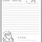 This file includes two different forms to use for writing a letter to Santa.1 half sheet form1 full sheet form...