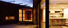 Herriot Melhuish O'Neill Architects designed Peka Peka House I, a compact eco-friendly home in New Zealand.
