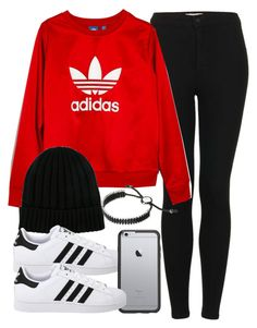 """""""Sin título #14240"""" by vany-alvarado ❤ liked on Polyvore featuring Topshop, Madewell, Dolce&Gabbana, adidas Originals, OtterBox and Links of London"""