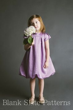 Tiny Bubbles Dress pdf sewing pattern by Blank Slate Patterns