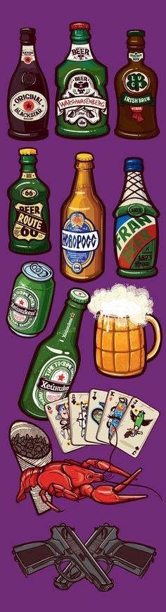 Drinks on Behance: