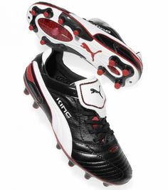 5dadd0fa8f Puma King Finale - Black White Red - Football boots - 2011  soccercleats   vintage