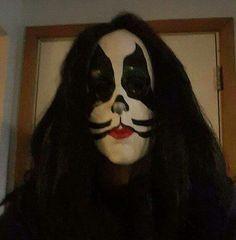 The KISS. Halloween Face Makeup, Kiss, Kisses, A Kiss