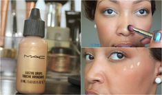How To Use MAC Lustre Drops in 2 Minutes!! TUTORIAL!!! (Sun Rush)