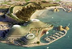 Lava, Laboratory for Visionary Architecture, Jeju Hills Hotel Resort, Korea, Jeju, hotel, organic, landform, landscape, arup