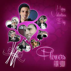 Happy Valentine's Day - Flowers for Valentine's Day