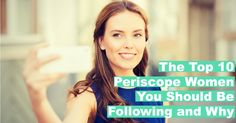 Periscope is paving the way for social connection to reach a whole new level.  We now have the ability to connect with top influencers, brands and more LIVE a