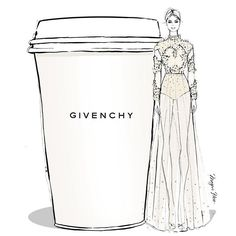 WEBSTA @ meganhess_official - Be kind Monday! I'm in need of a creamy vanilla GIVENCHY latte...