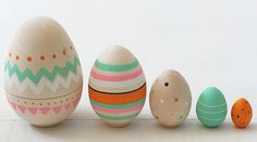 Oh BLANK... love these pretty little eggs