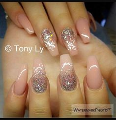 Nude with sparkle design