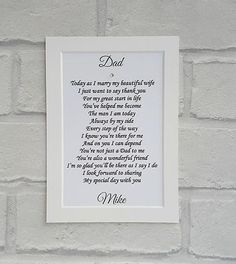 Check out this item in my Etsy shop https://www.etsy.com/uk/listing/492181902/father-of-the-groom-gift-from-son