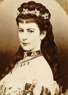 Beauty: Elisabeth, Empress of Austria, was dubbed the 'loveliest woman in Europe'...