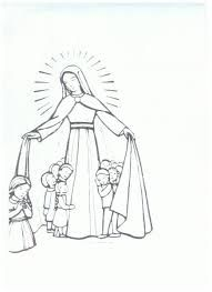 Adoration Procession Of The Eucharist Coloring Page