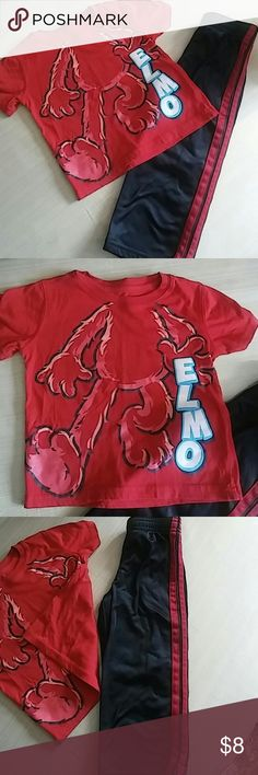 2t n 24monthsbundle Good condition shirt 2t n sweats 24months Other