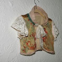 upcycled clothing upcycled bolero . spellbound. $88.00, via Etsy.