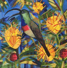 Summer holiday 2019 Dec Sunbird Pieter Cronje Art Fun Travel, Paintings, Watercolor, Holiday, Summer, Art, Pen And Wash, Art Background, Watercolor Painting