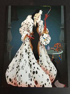 Make Cruella de Vil costume yourself maskerix.de 1001 Dalmatian Cruella de Vil costume make yourself Costume idea for carnival, Halloween & carnival Walt Disney, Disney Pixar, Disney Amor, Disney Animation, Disney Love, Disney Magic, Disney Cartoons, Evil Disney, Punk Disney
