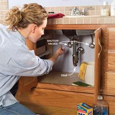 how to install a vanity and faucet properly