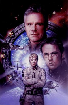 #Stargate #Sg1 Trio Picture.