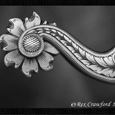 by Rex Crawford, amazing spurs....  ^ https://de.pinterest.com/luckyacresforge/engraving/