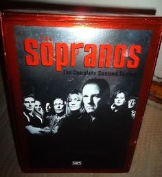 Collectibles VHS Tapes Sopranos,The:The Complete Second Season James Gandolfini