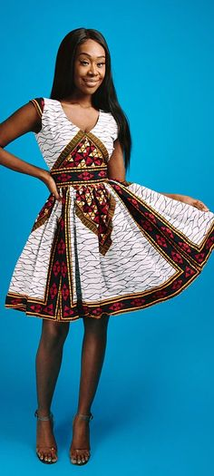 the ABBY dress. V neck African print mini dress with fully lined with 2 side pockets and back zip.   Ankara | Dutch wax | Kente | Kitenge | Dashiki | African print bomber jacket | African fashion | Ankara bomber jacket | African prints | Nigerian style | Ghanaian fashion | Senegal fashion | Kenya fashion | Nigerian fashion | Ankara crop top (affiliate)