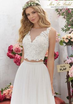 Sensual and glamorous wedding dresses for the sexy bride Beige Wedding Dress, Mori Lee Wedding Dress, Two Piece Wedding Dress, Luxury Wedding Dress, Sexy Wedding Dresses, Glamorous Wedding, Bridal Dresses, Winter Bridesmaid Dresses, Bridesmaid Dress Styles