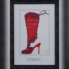 """0 Likes, 1 Comments - Gaylene Lonergan (@gaylenelonerganart) on Instagram: """"Boots Are The Exclamation Point At The End Of A Fashion Statement! #gaylenelonerganart #art #artist…"""""""