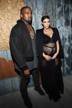 Kim Kardashian e Kanye West serão pais pela segunda vez (Foto: Getty Images)