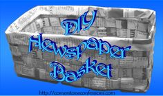 Cornerstone Confessions: Newspaper Activities Day 4: Baskets