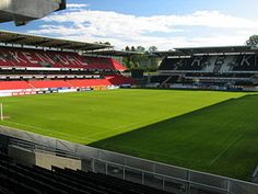 Lerkendal Stadion is an all-seater football stadium located at Lerkendal in Trondheim, Norway. The home ground of the Tippeligaen side Rosenborg BK, it has a capacity for 21,116 spectators, making it the second-largest football stadium in the country.