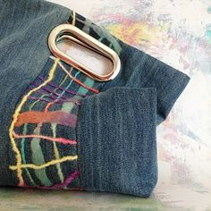Punch bag od Yvonne #kabelka #boho #dzinova #taska #handmade #riflovina #riflova #rucniprace