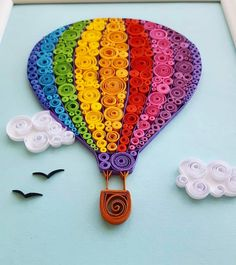 Diy Quilling Projects, Ideas Quilling, Paper Quilling Patterns, Quilling Craft, Quilling Comb, Neli Quilling, Paper Quilling Cards, Paper Quilling Jewelry, Quilled Paper Art