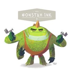 MONSTER OFFICE PROJECT 3 on Character Design Served ★ Find more at http://www.pinterest.com/competing/