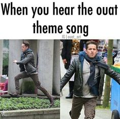 So True!! That's literally what I do when I hear it in my house... and I would even do it if I heard it out♥️ #ouat #imareanoncer #onceuponatime