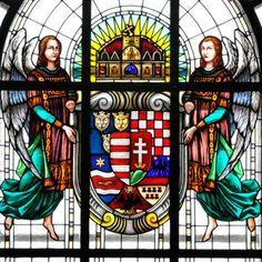 Magyar szecessziós ablaküvegek - Róth Miksa (1865-1944) - Kosssuth Lajos Tudomány Egyetem üvegablaka - Debrecen - Alföld