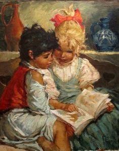 Little readers, Karoly Roka