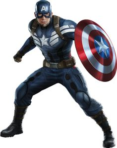 Captain America: The Winter Soldier - Cap Render 3 by Marvel Art, Marvel Dc Comics, Marvel Heroes, Marvel Avengers, Capitan America Marvel, Marvel Captain America, Image Pinterest, Captain America Winter, Captain American