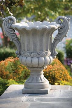 Urns and Planters Stone Planters, Urn Planters, Flower Planters, Flower Vases, Flower Pots, Garden Urns, Garden Fountains, Asian Sculptures, Cement Art