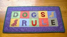 Could do w/ scotties http://www.ebay.com/itm/Handmade-Finished-Mini-Quilt-DOGS-RULE-/300671330429?pt=Quilts&hash=item460168687d