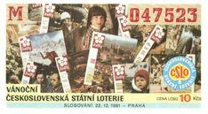 Vánoční Československá státní loterie Retro, Cover, Frame, Books, Christmas, Picture Frame, Xmas, Libros, Book