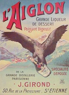 """French Posters """"Lagoon""""- Southwest Gallery: Not Just Southwest Art."""